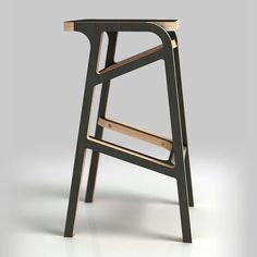 Bar chair #plywoodfurniture #cnccutplywoodfurniture #diyfurniture #birchplywood #woodfurniture #modernfurniture #opendesign #dlyplywood…