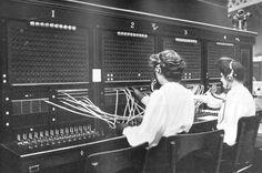 Telephone Switchboard c1905 (© Matt Probert Photography)
