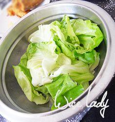 Fokhagymás fejessaláta-öntet - Anya főztje Lettuce, Salads, Vegetables, Recipes, Food, Vegetable Recipes, Eten, Salad, Veggie Food