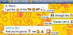 Evolution in Emoji: Mobile Messaging for Katy Perry's 'Roar' Lyric Video Latest Music Videos, Latest Video, Johnny Wu, Douglas Adams, I 8, Katy Perry, Social Networks, Evolution