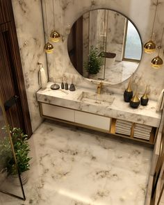 Luxurious Bathroom o