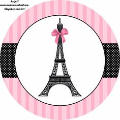 Paris: Free Printable Toppers
