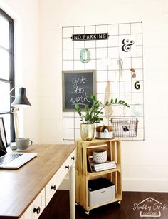 How To Make A Wire Mesh Memo Board (for Under $15!) Cozy OfficeShed  OfficeHome ...