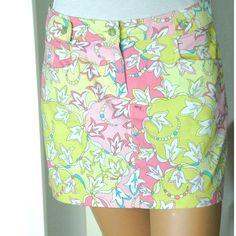 Tip: Emilio Pucci Skirt (Multicolored)