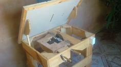 Serra circular de bancada artesanal ( Homemade table saw )                                                                                                                                                                                 Mais