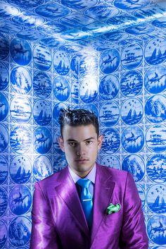 2 Guys Wearing 4 Hair Styles Your Clients Will LOVE Hair & Photography: Luis Alvarez Make-up: Wanda Alvarez Fashion Styling: Patric Chauvez