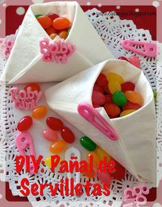 #DIY #Pañal con #servilleta #diaper #papernapkin