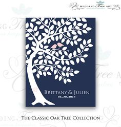 Custom Wedding Guest Book // Wedding Guest by WeddingTreePrints, $38.00
