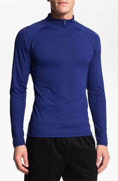 The North Face 'Baselayer - Light' FlashDry™ Technical Zip Neck T-Shirt (Online Exclusive) available at #Nordstrom