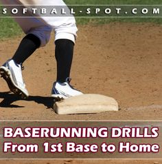 We show you how to cover all the bases with emphasis on a few techniques tocan help you become a smarter base runner in these awesome baserunning drills! Softball Workouts, Softball Drills, Softball Coach, Girls Softball, Fastpitch Softball, Softball Chants, Volleyball Quotes, Volleyball Gifts, Coaching Volleyball