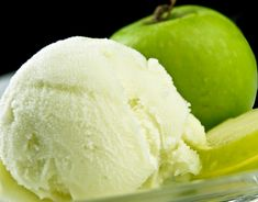 Sorbet à la pomme verte