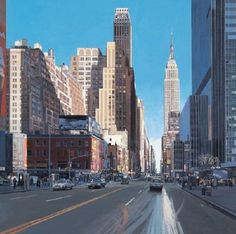 Photo Realism Painting by Richard Estes   http://cdn2.all-art.org/yapan/History%20of%20Literature/modern%20art/estes/35.jpg