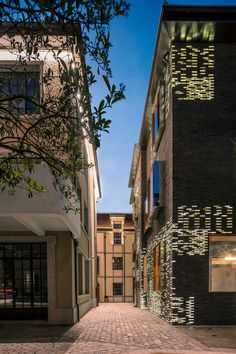 Facade Renovation for No 8 Building by Atelier Archmixing | Yellowtrace