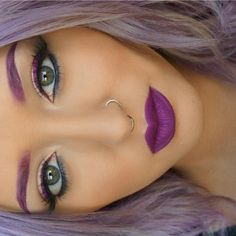 I wish i could pull off the all purple!