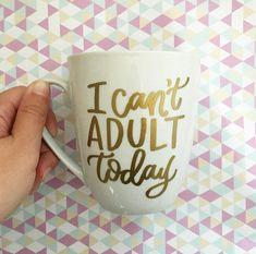 Mug white coffee mugs, funny coffee mugs, coffee cups, vinyl crafts, vinyl Sharpie Crafts, Vinyl Crafts, Vinyl Projects, Gold Sharpie, Sharpie Mugs, Sharpies, White Coffee Mugs, Funny Coffee Mugs, Coffee Humor