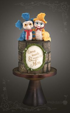 Labyrinth Worms Cake by Little Cherry You remind me of the babe. What babe?