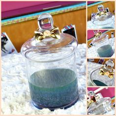 PinkGlitter: DIY | Customisation d'objets en verre pour créer de jolis rangements pour ses bijoux et/ou de jolies décorations