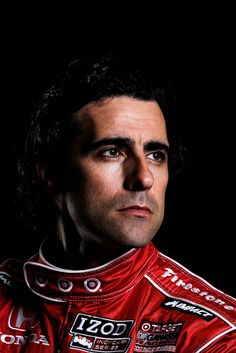 Dario Franchitti of Scotland, driver of the #10 Target Chip Ganassi Racing Honda Dallara DW12 poses for a portrait the IZOD INDYCAR Series Media day at the Mahaffey Theater on March 7, 2012 in St. Petersburg, Florida..