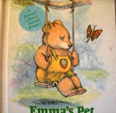 Emma's Pet David McPhail Weekly Reader Book 1985 LoveVintageAlways