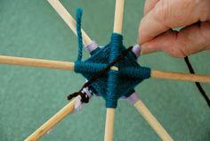 How-Tuesday: Weaving a Complex Ojo de Dios | The Etsy BlogThe Etsy Blog