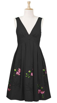 Floral Pleat Waist Dress - Sizes 0 - 26 with custom sizes available.