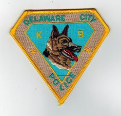 RARE Vintage DELAWARE 1st state travel collectors patch sew on NOS