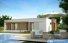 House Plans One Story Flat Roof 46 Ideas