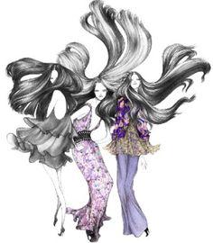 Laura Laine fashion illustration x