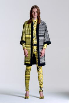 Fausto Puglisi Resort 2014 Fashion Show - Laura Kampman
