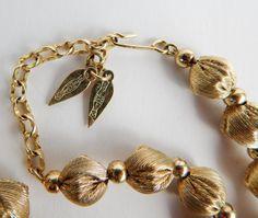 Vintage 40's 50's WHITING & DAVIS Necklace by HiddenStairwayFinds, $38.00