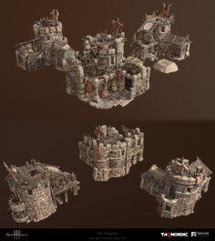 ArtStation - Orc Outposts, alex grigorov