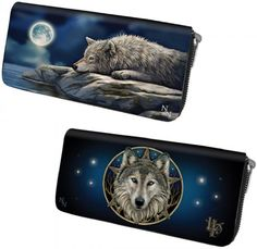 NEW ANNE STOKES LISA PARKER GOTHIC LADIES LONG ZIP PURSE WALLET BAG CARD HOLDER