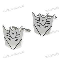 DealExtreme Transformers Decepticon cufflinks. $6.33 (have)