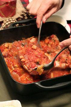 熱伝導がとても良いのでイタリアンなどの煮込み料理にもピッタリなんです。 鳥肉もしっとりジューシーに。