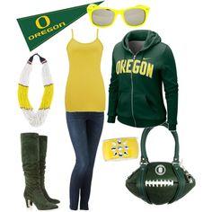@Mandi Rondeau - look! you can look like an Oregon Ducks turnip! (skinny jeans and hoodie)
