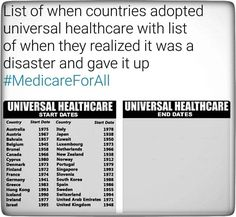 Healthcare is a RIGHT *NOT* a privilege