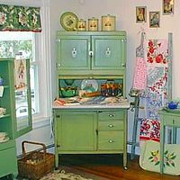 sailors country kitchen scenic green and blue vintage kitchen cabinet storage also 2089