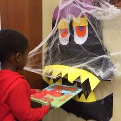 Halloween book return #library #libraries