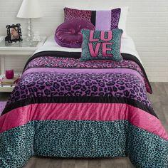 Found it at Wayfair - Pop Cheetah Comforter Set