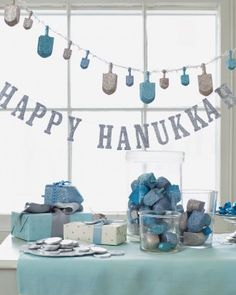Inspired by The Festival of Lights-Happy Hanukkah! - Inspired By This Happy Hanukkah decorations What Is Hanukkah, Feliz Hanukkah, Hanukkah Crafts, How To Celebrate Hanukkah, Jewish Crafts, Hanukkah Decorations, Christmas Hanukkah, Happy Hanukkah, Ideas