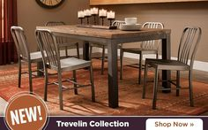 The Best Part About This Kenton 5 Piece Dining Set May Be Its Ability To  Mix And Match Styles So Well! Its Dark Walnut And Ebony Finishes Serve Up U2026