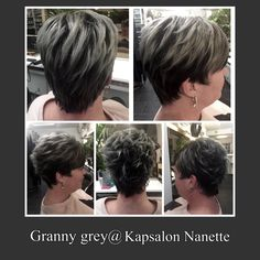 Haircut and color@Kapsalon Nanette