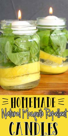 Diy Cleaning Products, Cleaning Hacks, Diy Candles, Natural Candles, Homemade Candles, Diy Mosquito Repellent, Natural Mosquito Repellant, Home Remedies, Natural Remedies