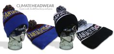 A couple of  awesome beanie variations for the guys at www.dreamteamtalk.com