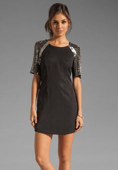 KEEPSAKE A Million Miles Away Dress in Black at Revolve Clothing.