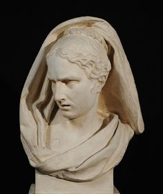 François Rude. Attention Mingled with Fear, 1812. Plaster. 26 1/8 x 15 9/16 x 12 1/4 inches. École des Beaux-Arts, Paris (TES 5). Courtesy American Federation of Arts.