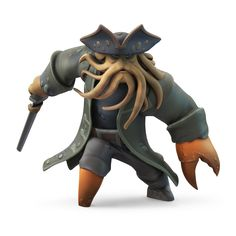 Davy Jones de #PiratesdesCaraibes à incarner dans #DisneyInfinity !