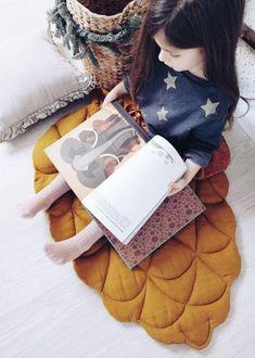 Handmade Linen 'Pinecone' Playmat   LaPetitePersonneShop on Etsy #nurserydecor