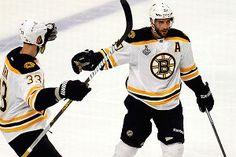 Bergy invested in Bruins'success