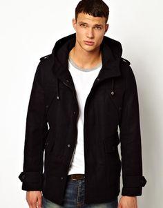 Image 1 ofRiver Island Wool Coat